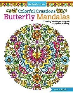 Amazon.com: Flower Mandalas Coloring Book (Design Originals) 30 ...