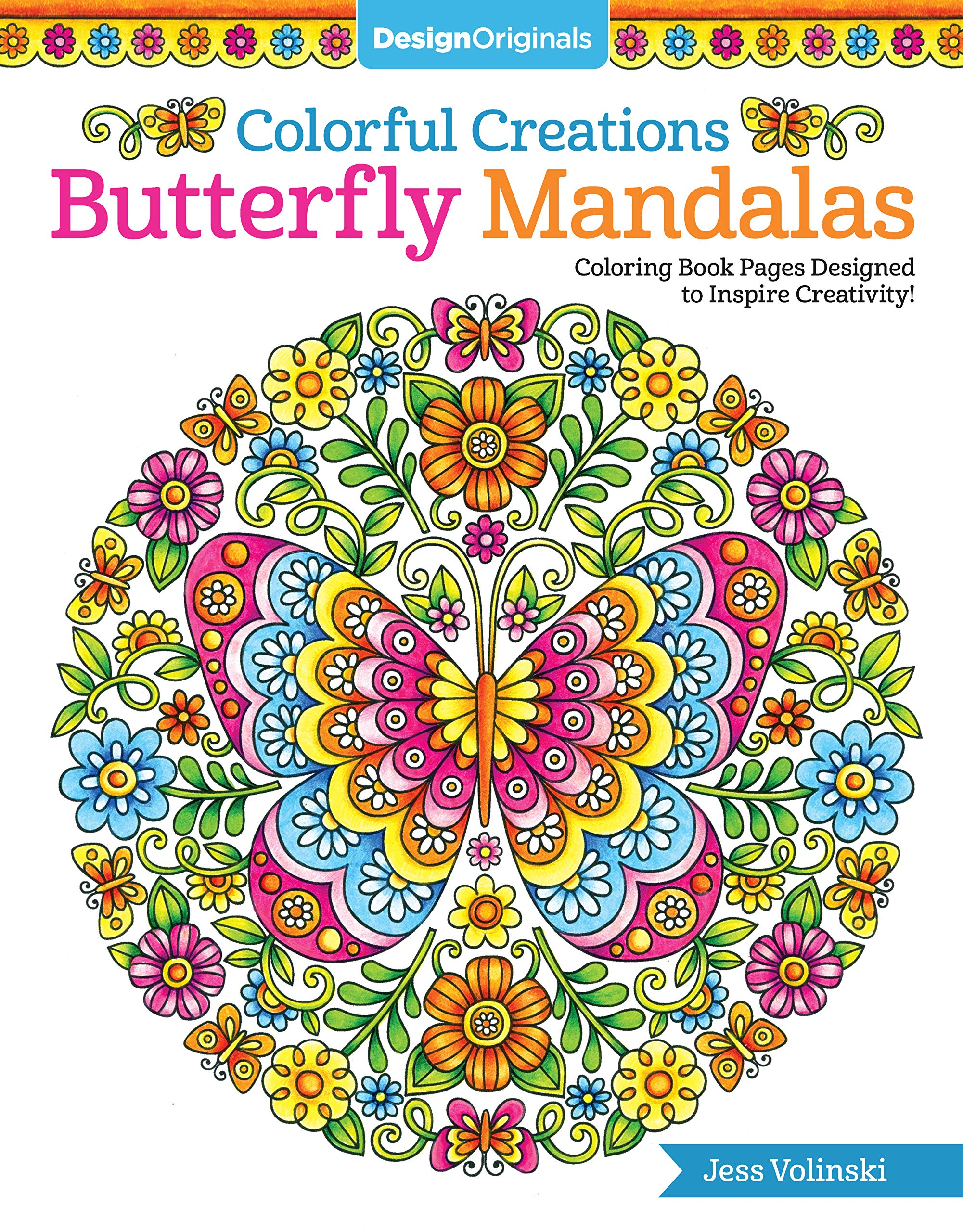 Amazon.com: Colorful Creations Butterfly Mandalas: Coloring Book ...