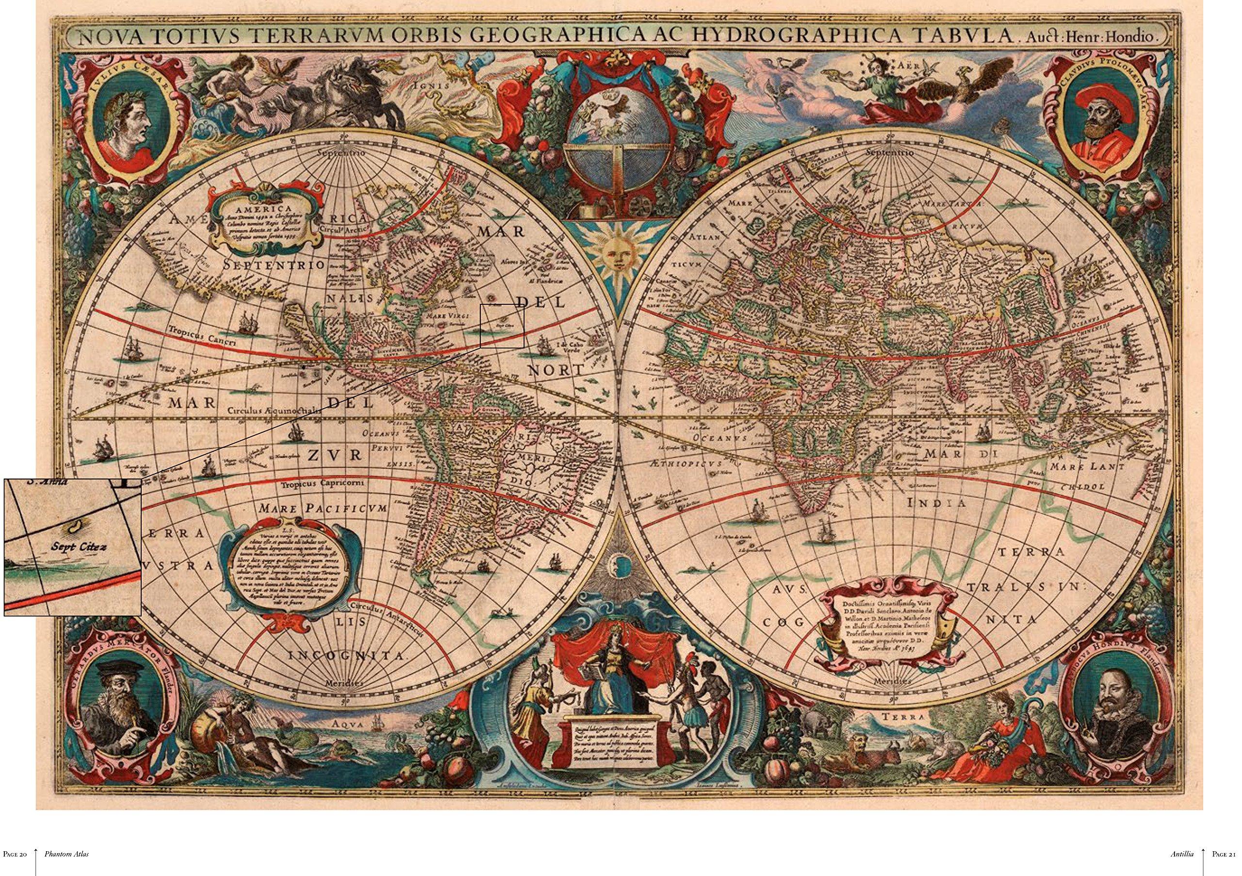 The Phantom Atlas: Edward Brooke-Hitching: 9781471159459: Amazon.com: Books