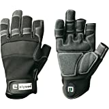 Men's Gloves Mechanicals CARPENTER Gloves - Perfect Fit - Black, 11