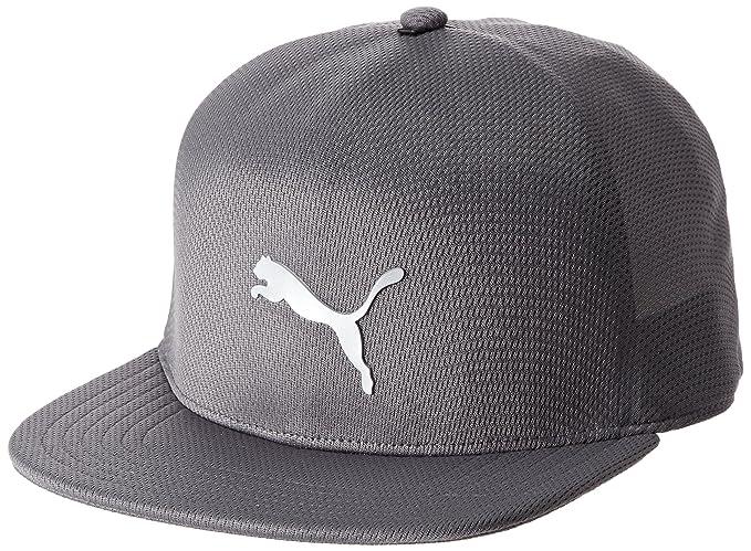 PUMA - Gorra de béisbol - para hombre Gris Quarry M/L: Amazon.es ...