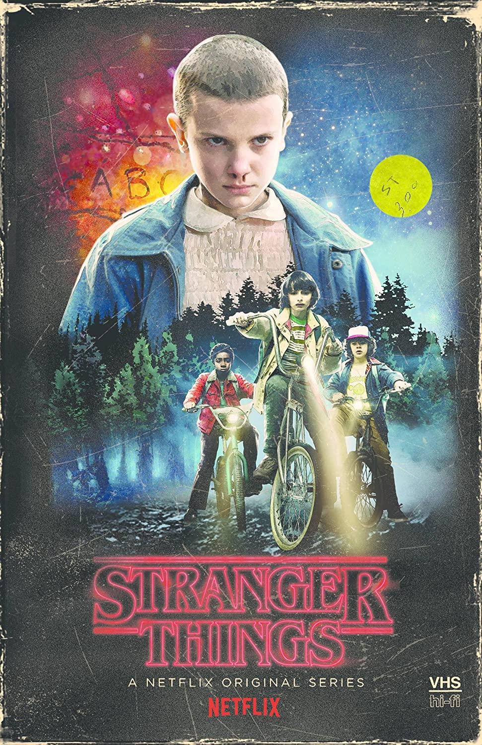 Amazon Com Stranger Things Season 1 4 Disc Dvd Blu Ray