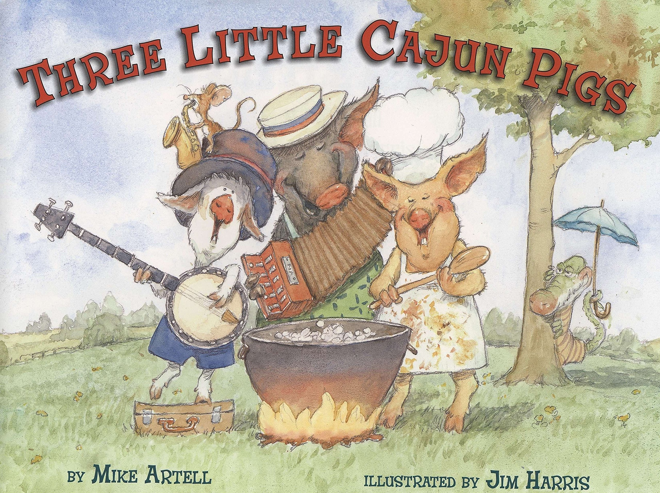 Read Online Three Little Cajun Pigs ebook