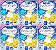 Nestlé Bébé P'tit Souper Carottes Potiron - Céréales du soir dès 4-6 mois - 250g -Lot de 6