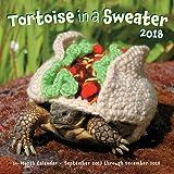 Tortoise in a Sweater 2018: 16-Month Calendar September 2017 through December 2018 (Calendars 2018)