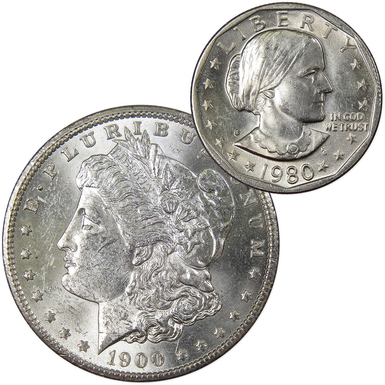 BU 1900-O Morgan Silver Dollar Brilliant Uncirculated Circulated