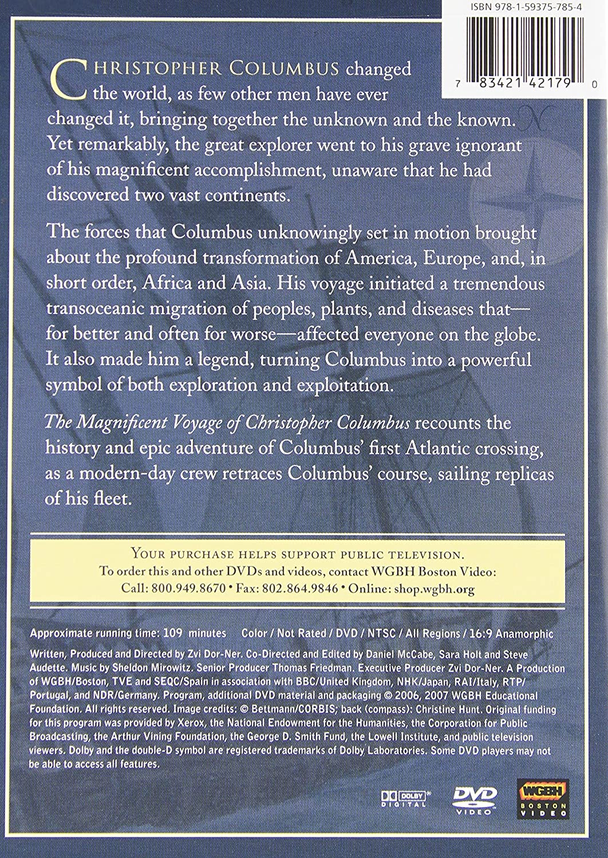 amazon com magnificent voyage of christopher columbus sarah