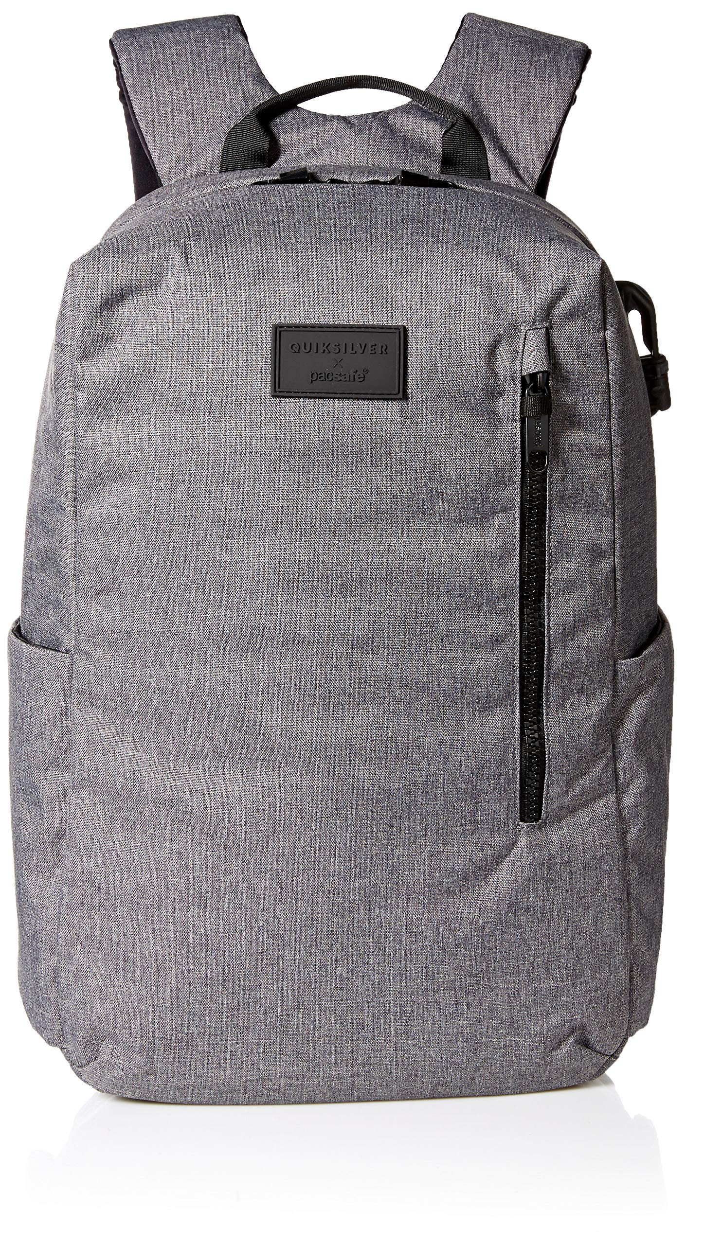 Quiksilver Men's PACSAFE X QS Backpack, Light Grey Heather, 1SZ