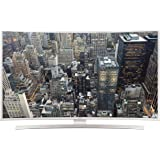 Samsung JU6580 101 cm (40 Zoll) Curved Fernseher (Ultra HD, Triple Tuner, Smart TV)