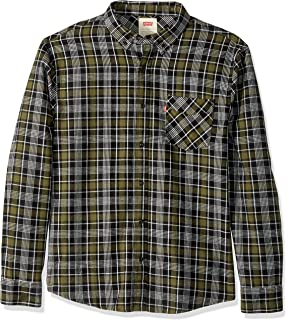 Levis Mens Tongass Plaid Shirt