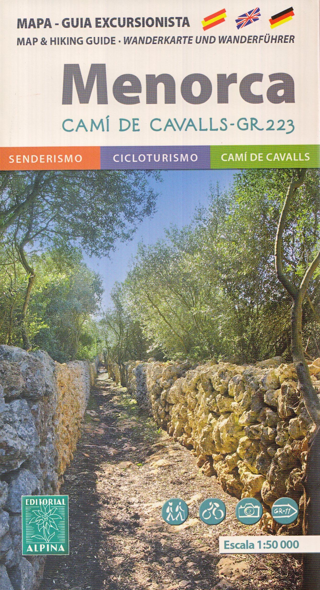 Camí de Cavalls - GR 223 - Menorca Senderismo Mapa y Guía 1:50.000 ...