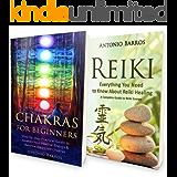REIKI: From Beginner to Expert - Energy Healing Double Book Bundle (+Bonus!) - Ultimate Guide to Reiki Healing & Chakra Healing (Energy Healing, Chakras ... Symbols, Chakra Balancing) (English Edition)