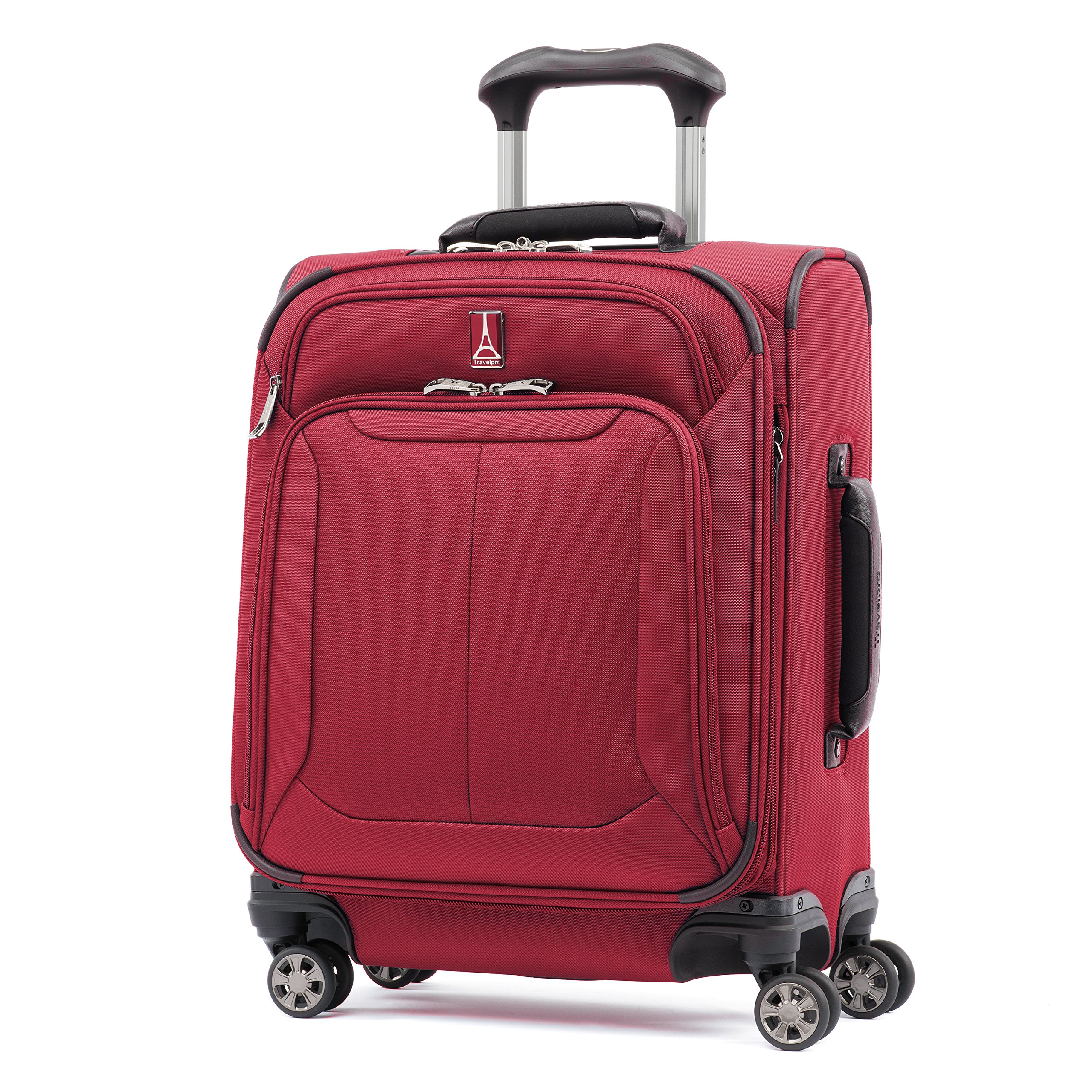 Travelpro Skypro Lite 20'' International Expandable 8-Wheel Carry-On Luggage Spinner (Merlot)