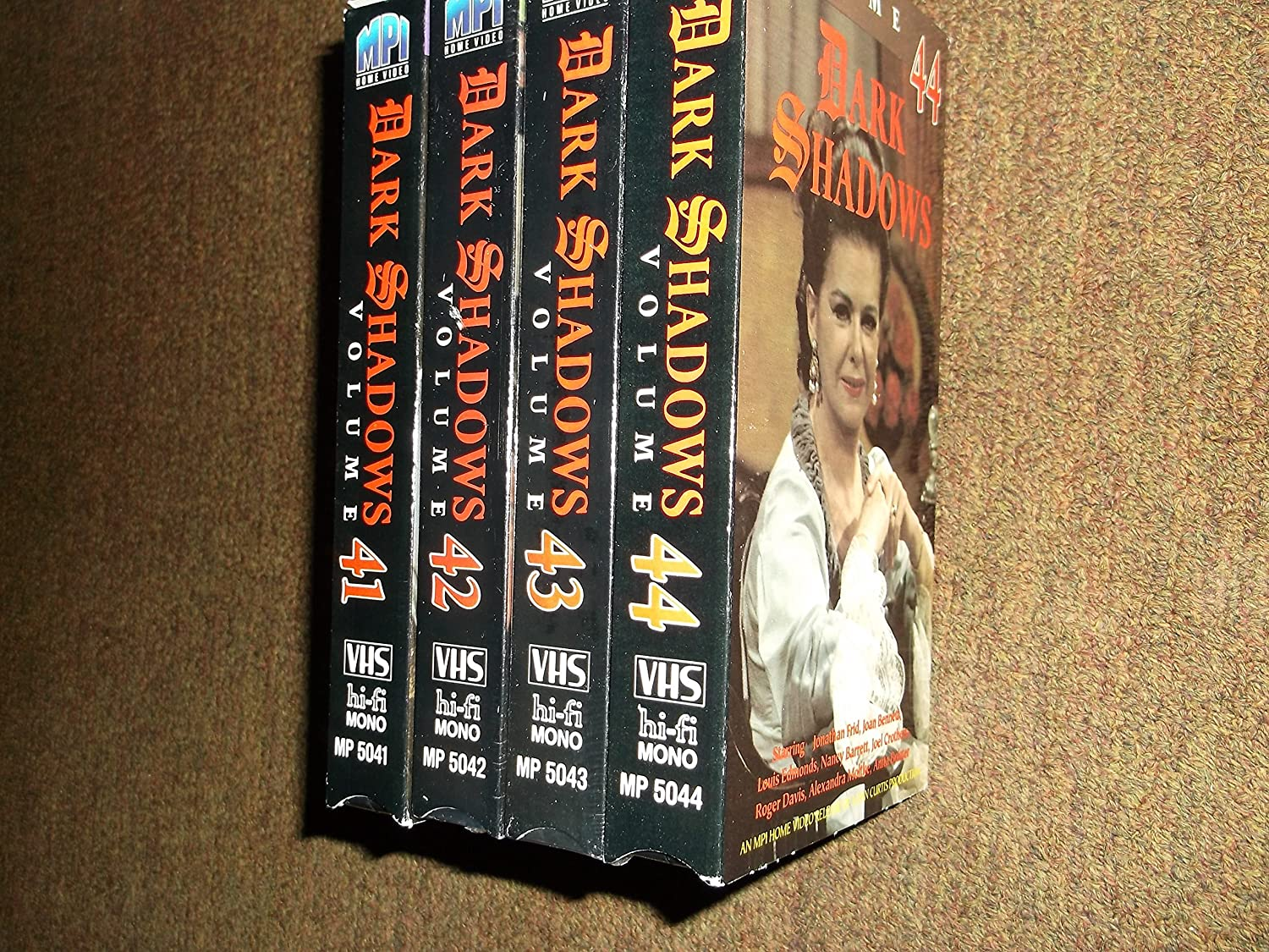Dark Shadows Vol 41-44 VHS