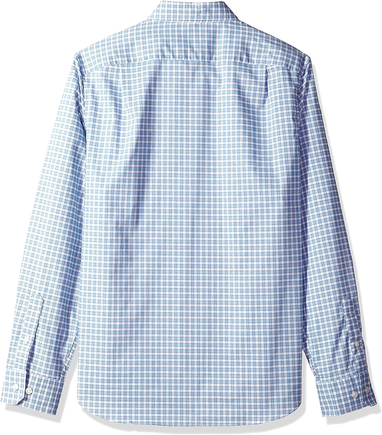 Nautica Classic Fit Long Sleeve Small Plaid Button Down Shirt