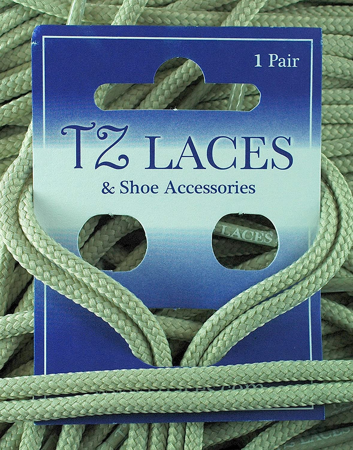 TZ Laces® Thin Round Stone Shoelaces 2 to 3mm Strong Dress shoes ...