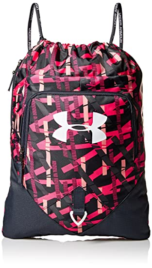 Under Armour Undeniable Sackpack Ballet Pink Stealth Gray One Size