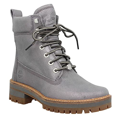 Timberland Mujer Dark Gris Courmayeur Valley Lace-up Botas: Amazon.es: Zapatos y complementos
