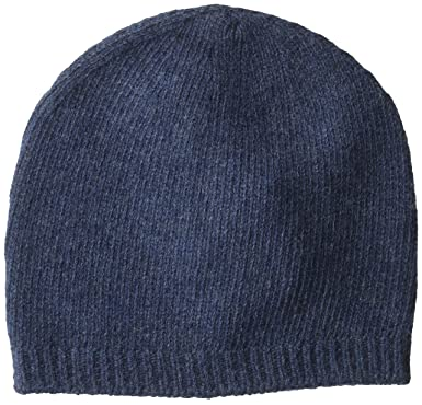 Armani Jeans Men s Wool Blend Knit Beanie Pure Cashmere 342454f59bf