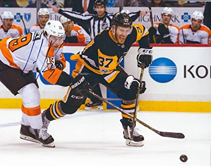 brand new f9091 fa244 Autographed Carter Rowney 8x10 Pittsburgh Penguins Photo at ...