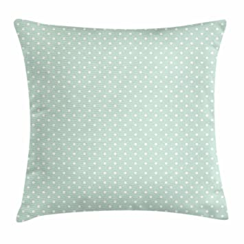 Amazon.com: Verde Throw almohada cojín cubierta por ...