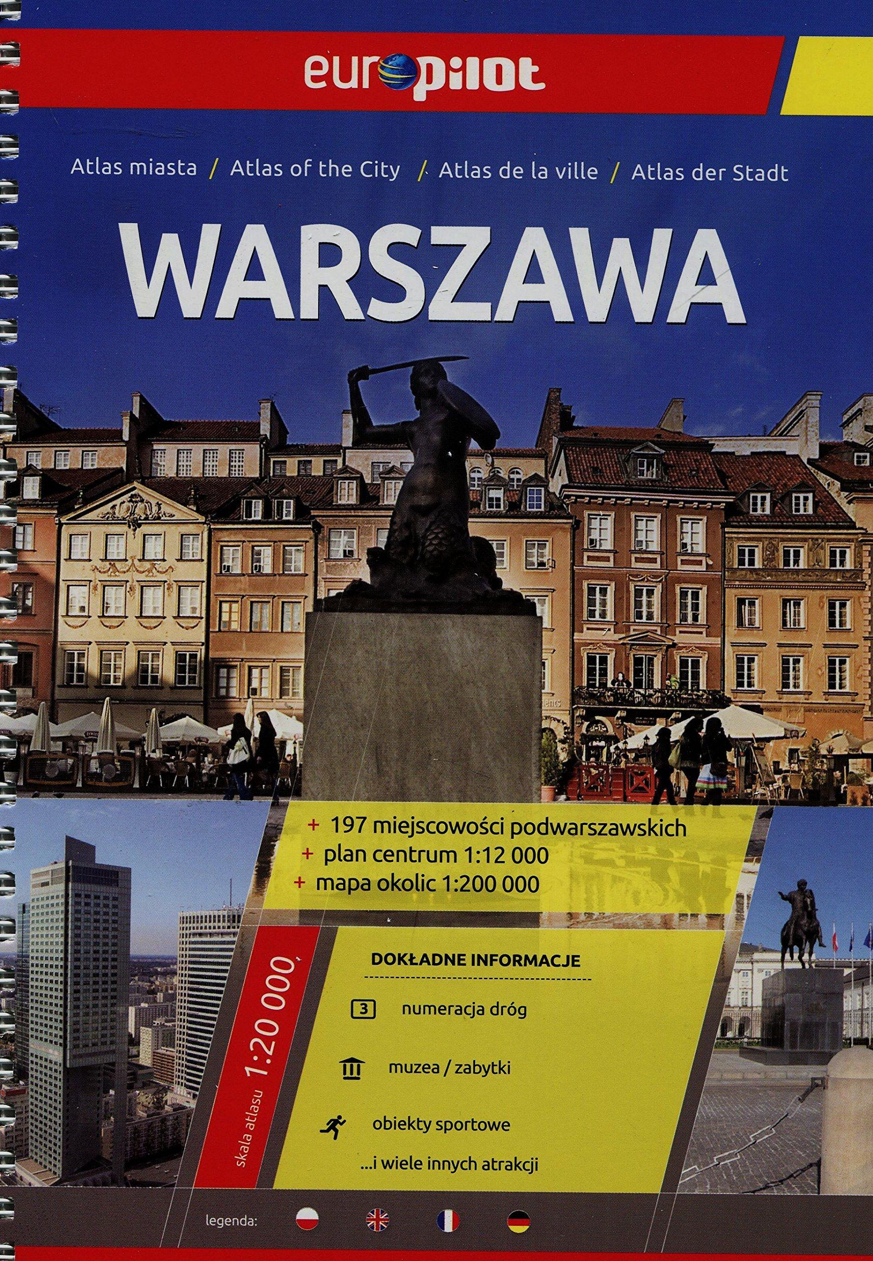 Warszawa Atlas Miasta 1 20 000 9788374757140 Amazon Com Books