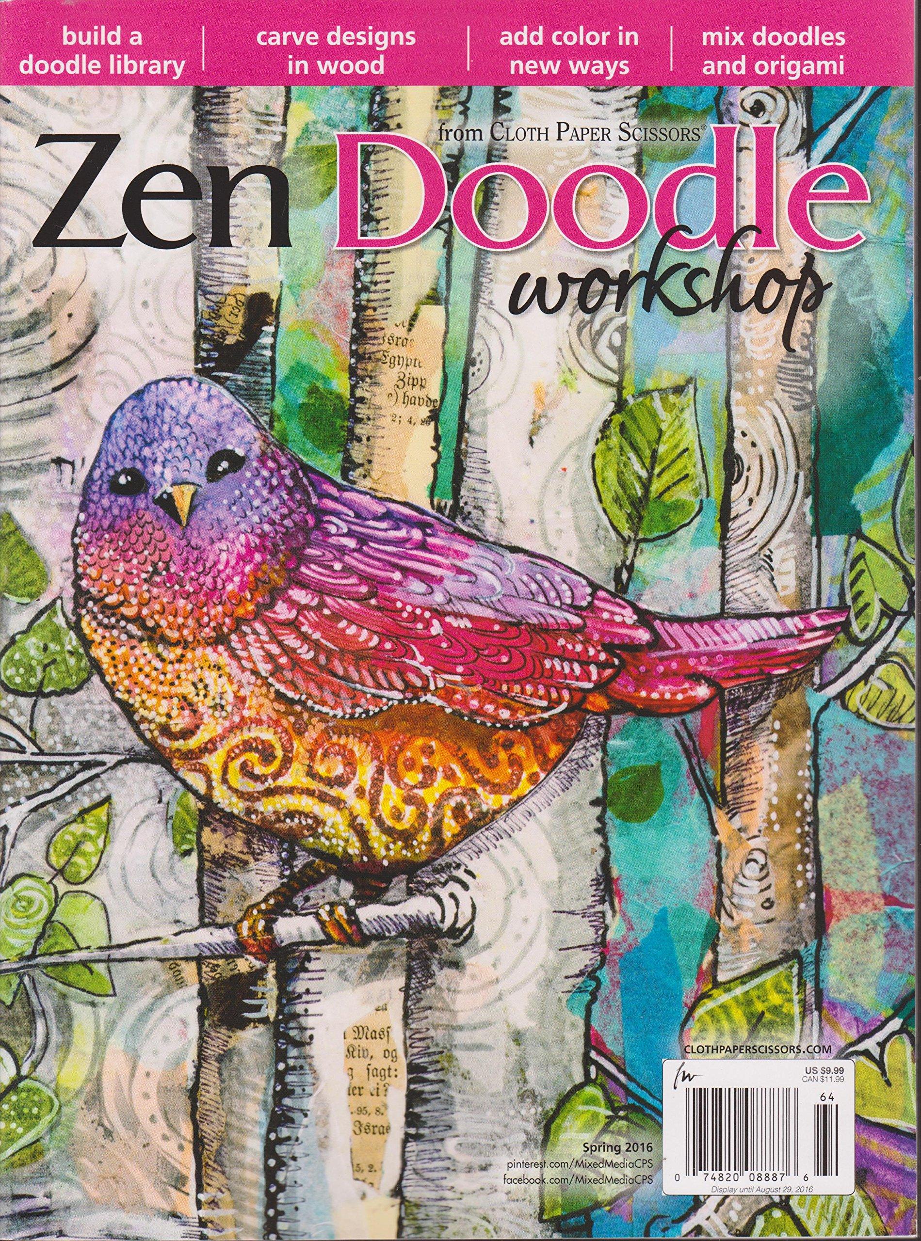 Download Zen Doodle Workshop Magazine Spring 2016 ePub fb2 book