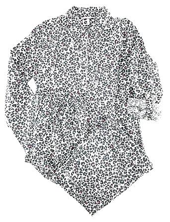 70e1edcf89 Victoria s Secret The Dreamer Flannel Pajama Set Gray Multi Color Leopard  X-Small
