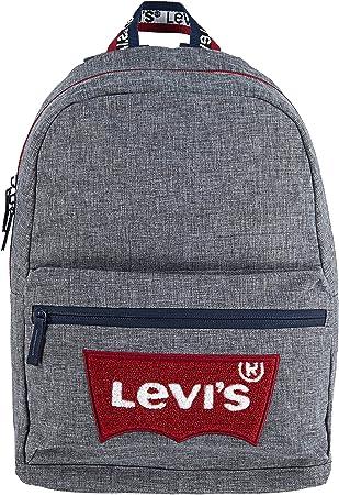 Levi's Kids' Classic Logo Backpack, Light Grey, O/S