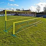 ProCourt Mini Pickleball, Badminton & Tennis Combi Net – Portable Pickleball Net With Simple Set Up & Steel Posts, Includes Net, Posts & Carry Bag [Net World Sports]