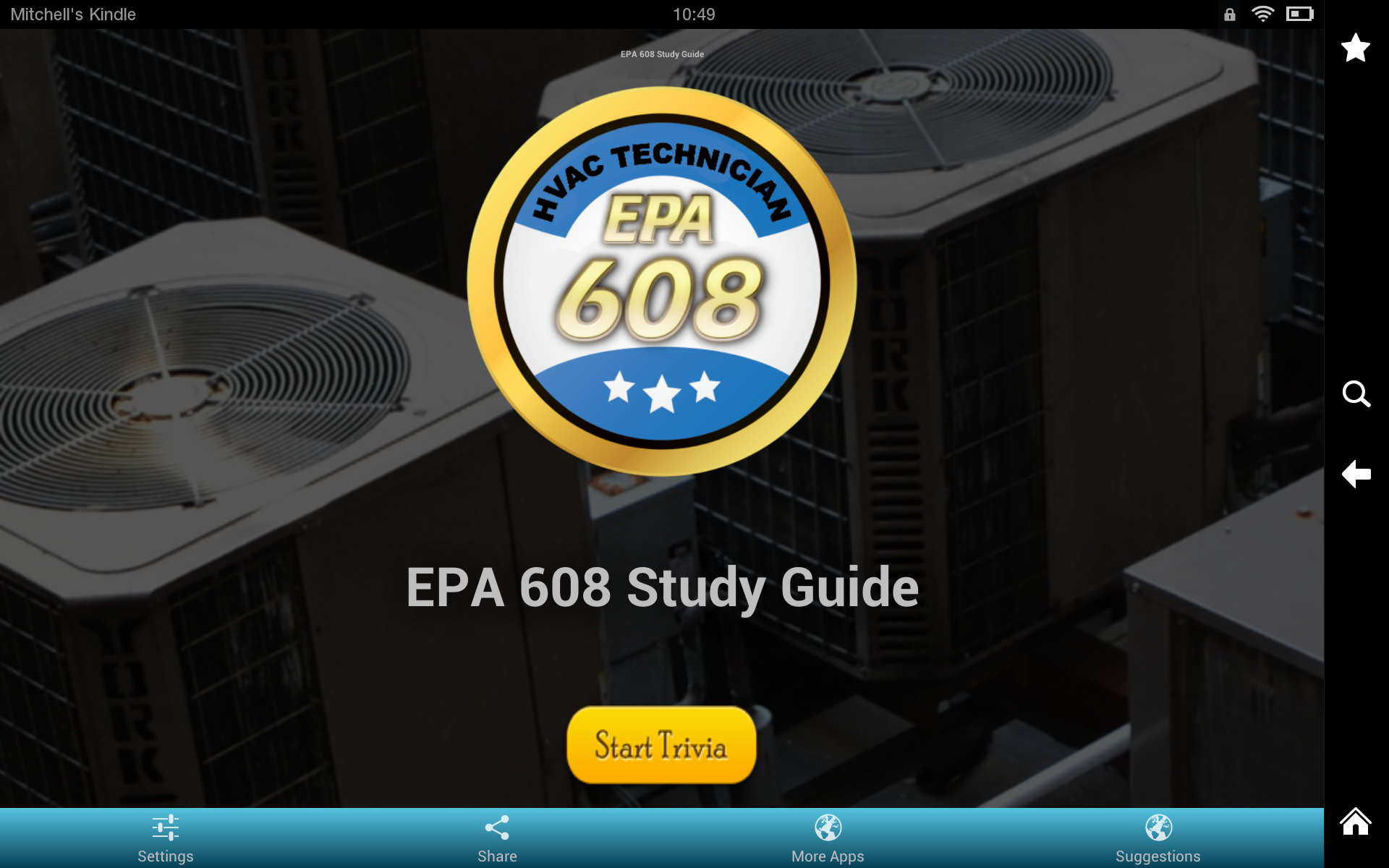 Amazon Epa 608 Study Guide Appstore For Android