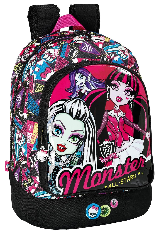 Monster High - Mochila, 33 cm (Safta 611343572): Amazon.es: Juguetes y juegos
