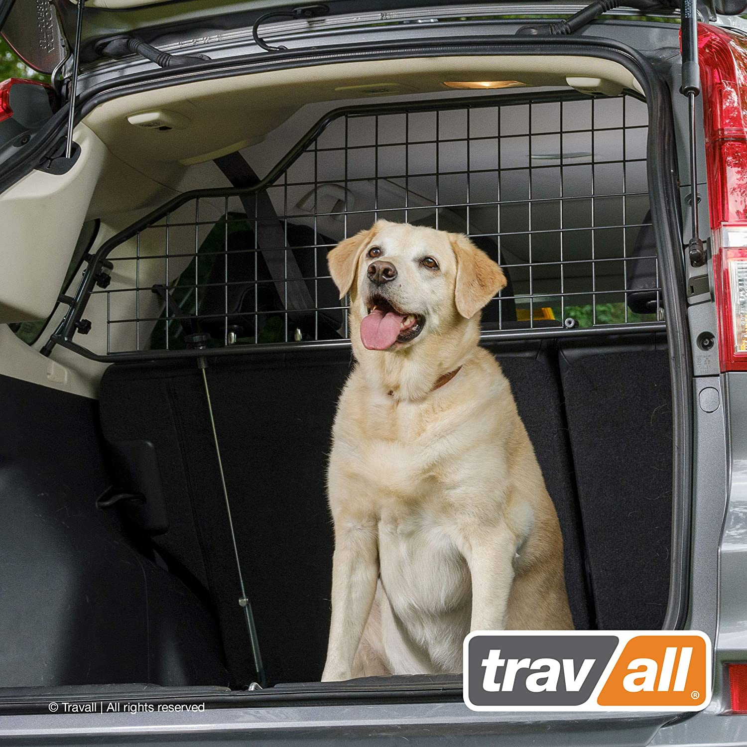 Travall Guard Compatible with BMW X3 Without Sunroof 2003-2010 TDG1111 – Rattle-Free Steel Pet Barrier
