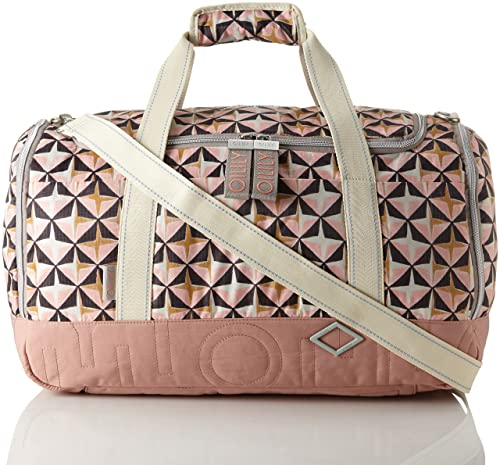 Whoopy Geometrical Backpack Lvz, Womens Handbag, Pink (Rose), 15x40x28 cm (B x H T) Oilily