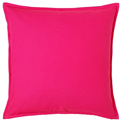 IKEA GURLI Cushion Covers, Bright Pink Color, 20 x 20-1 Pack: Home & Kitchen