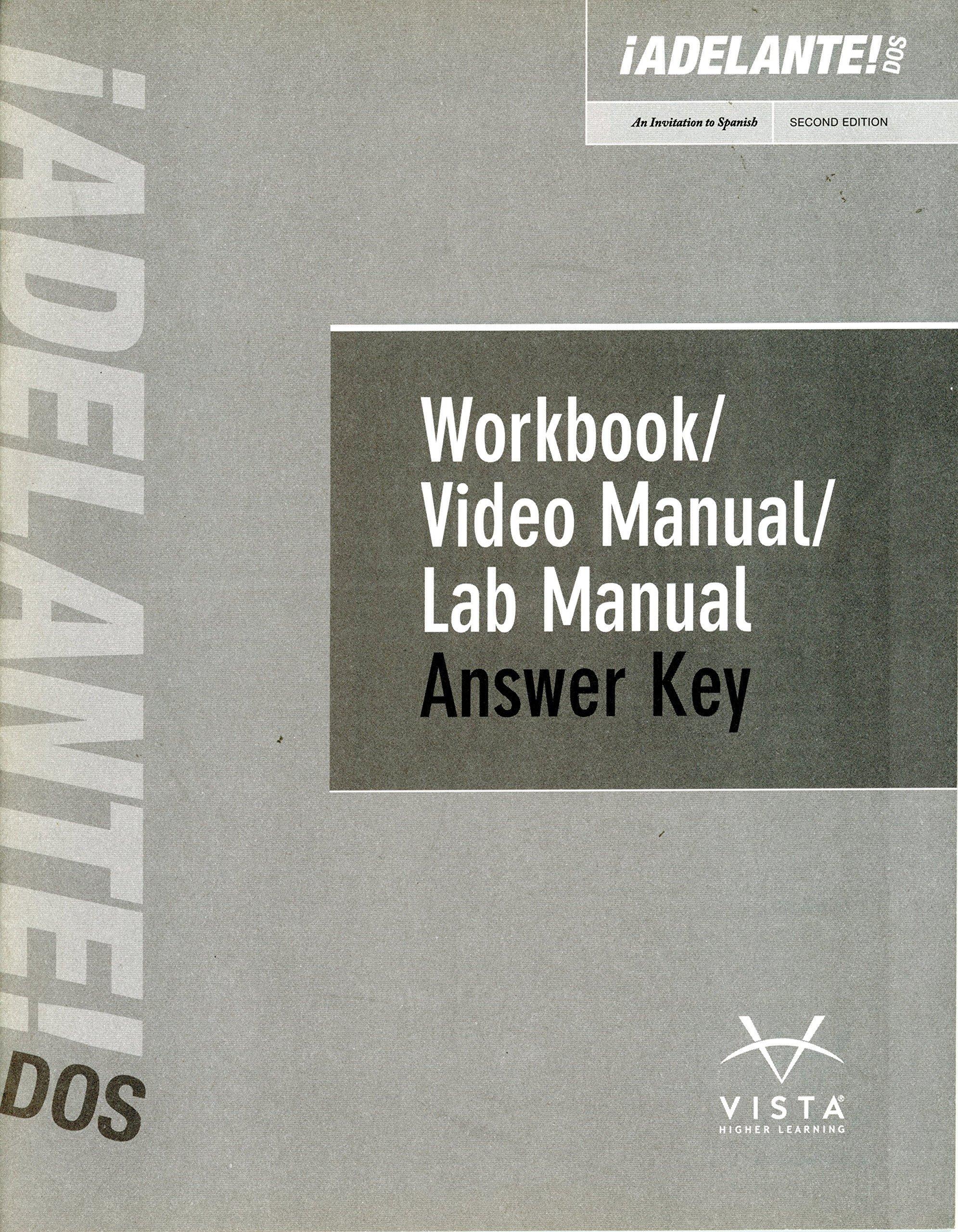 adelante dos 2nd edition answer key vhl 9781618579027 amazon com rh amazon com Dos 6.22 Manual PDF MS-DOS Manual PDF
