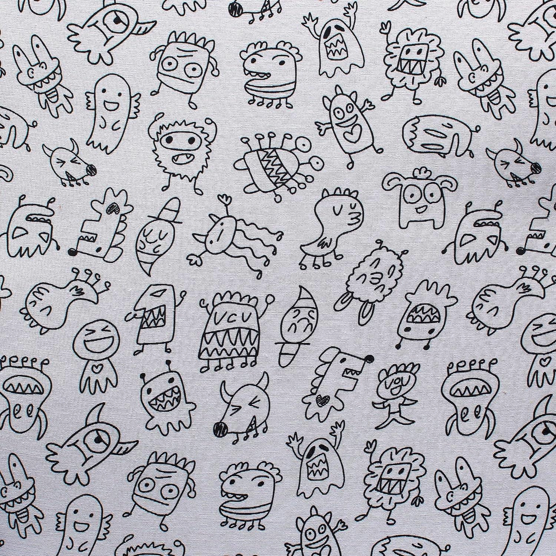 Geuther 4737-115 Ensemble de meubles pour enfant Motif monstres Multicolore
