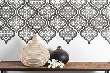 Stencil piastrelle cucina. amazing immagine di piastrelle modern