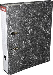 Esselte 46957 - Archivador de palanca de cartón con lomo de 75 mm, color Gris: Amazon.es: Oficina y papelería