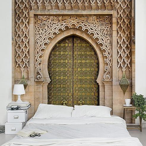 Fototapete | Steintapete Oriental Gate - Vliestapete Premium