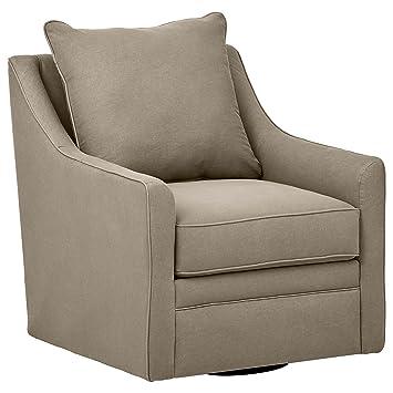 Stone U0026 Beam Larkin Swivel Chair, 30u0026quot; ...