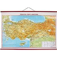 Gürbüz Yayınları 21013 Türkiye Fiziki, 70 x 100 cm