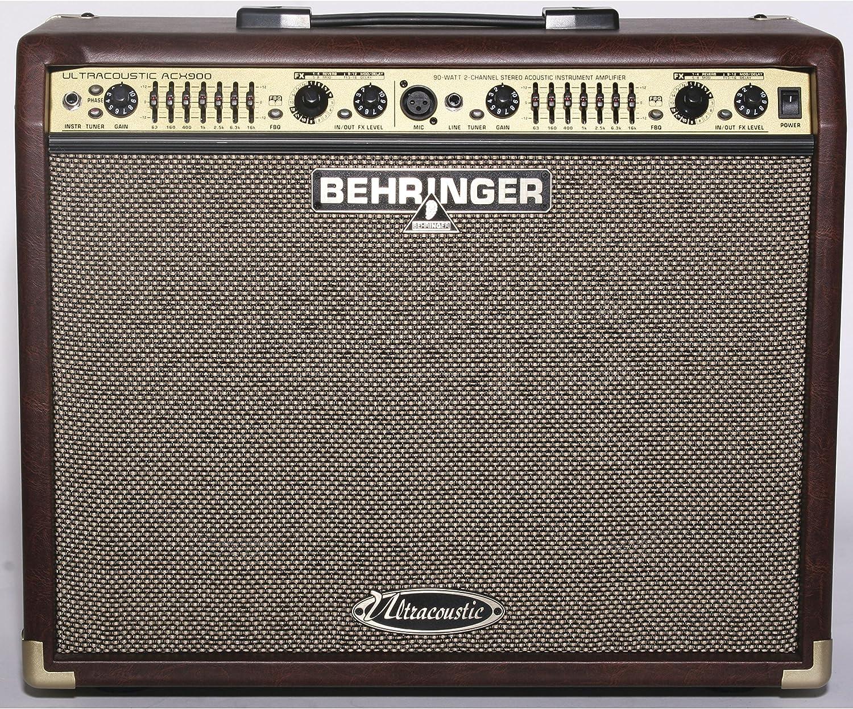 Behringer ACX900 - Amplificador para guitarra acústica: Amazon.es ...