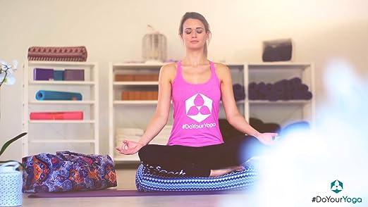 #DoYourYoga Yogabag »Sunita« yoga mat bag made of high-class Canvas, for yogamats up to 180 x 60 x 0,3 cm. Pattern 1