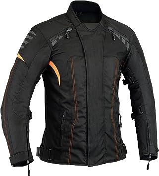 newfacelook Mens Protective Biker Motorbike Motorcyle Waterproof Jacket