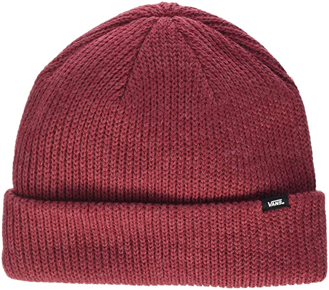 Image Unavailable. Image not available for. Color  Vans Tibetan Red Heather Core  Basic Womens Beanie ... 6b23b678d9