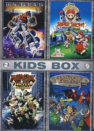 Kids Box Transformers, Super Mario Show, Ninja Turtles ...