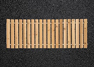 product image for Furniture Barn USA 3 Ft. Wide Roll-Up Outdoor Camp Walkway Red Cedar - 9 Ft. Length