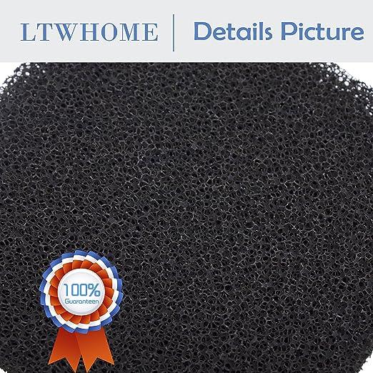 Sin marca Estera de Esponja de Filtro de carb/ón Compatible Pecera Ajusta Juwel Standard//BioFlow 6.0 6 Piezas