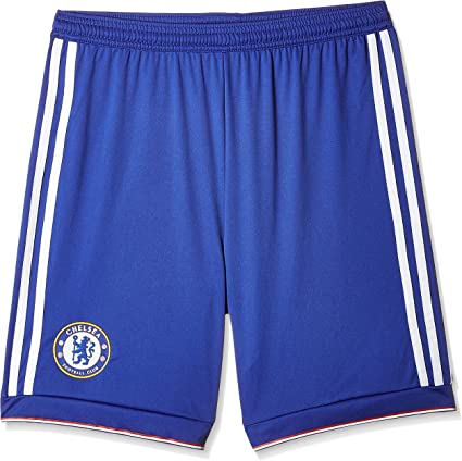 adidas garçon FC Home Shorts Chelsea d'alimentation BleuBlancRouge, Taille 128, Enfant, FC Home